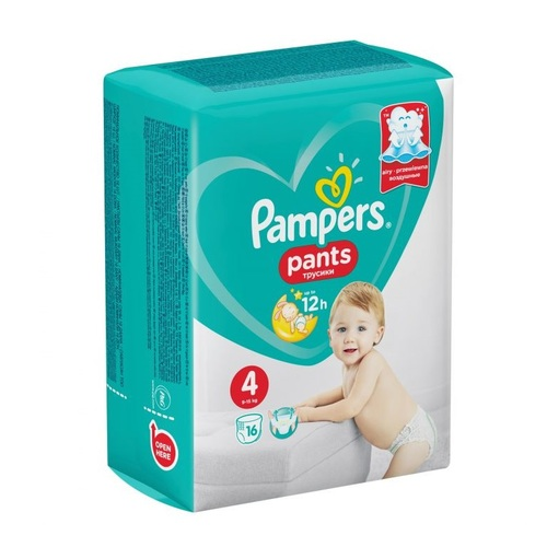 Памперс Дит. підгуз.-трусики Pants (9-15кг) №16 - фото 1 | Сеть аптек Viridis
