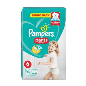ПАМПЕРС Дет. подгуз.-трусики Pants Extra Large (15+кг) уп. №44
