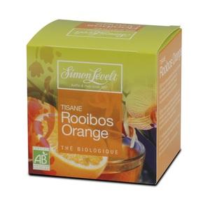 Симон Ливелт Чай  Ройбуш Апельсин  органічний 15 г. у фільтр-пакетиках (10*1,5 г.)ROOIBOS ORANGE ORG