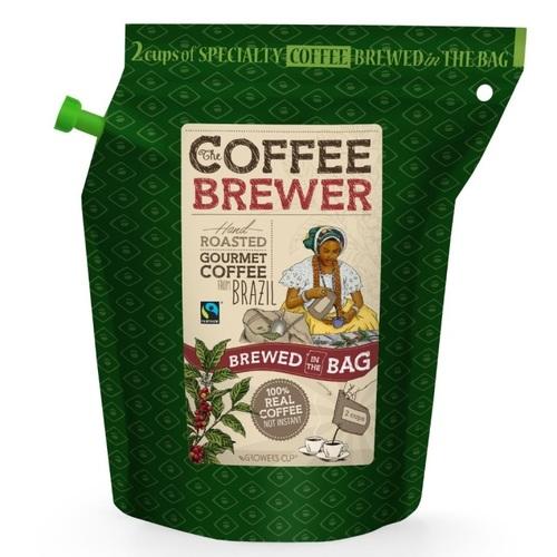 Гроверс Кап Кава мелена обсмажена з кофеіном з Бразилії для зав. GROWER'S CUP Данія 20 г