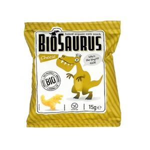 СНЕКИ кукурузные с сыром McLLOYD'S «Динозаврики» органические, 15г