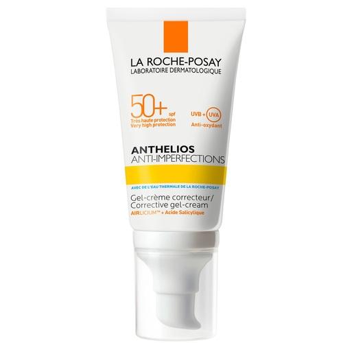 ЛЯ РОШ ПОЗЕ Антгелиос Солнцезащитный гель-крем для жирной, склонной к акне кожи с защитой SPF50+50мл - фото 1 | Сеть аптек Viridis