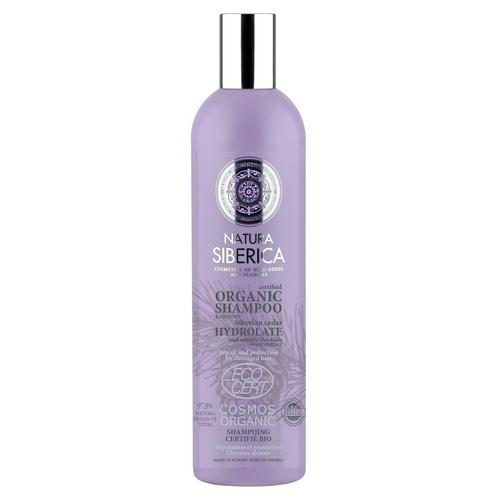 НАТУРА СИБЕРИКА Шампунь для повреждённых волос Восстановление и Защита 400мл - фото 1 | Сеть аптек Viridis