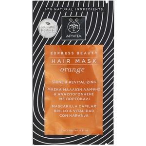 АПИВИТА EXPRESS BEAUTY Маска для волос с апельсином