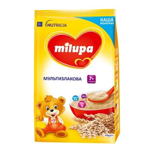 Мілупа каша молочна мультизлакова 3 7 міс. 210г - фото 1 | Сеть аптек Viridis