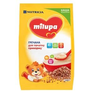 МИЛУПА Каша безмолочная гречневая с 4 мес. 170г