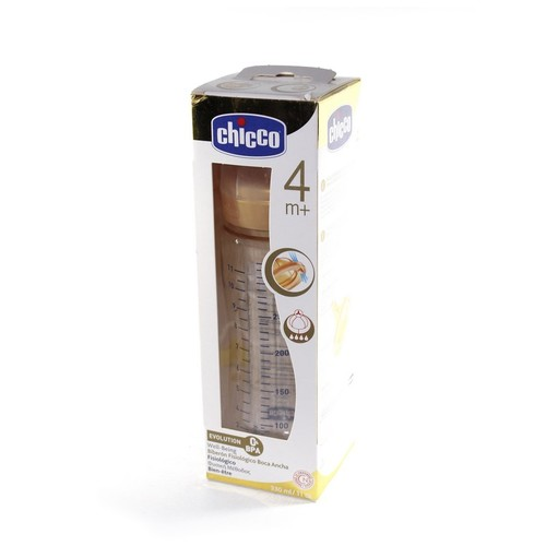 Chicco Бутылка пластик.,330мл.-соска лат.для каши(4м+) купить в Житомире