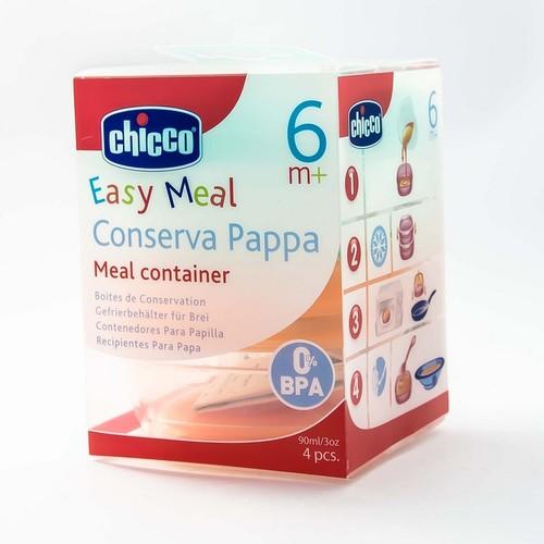 Chicco Набір: контейнери для дит. харчування (4шт) купити в Ирпене