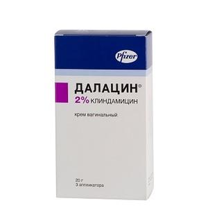 ДАЛАЦИН КРЕМ ВАГ. 2% 20Г