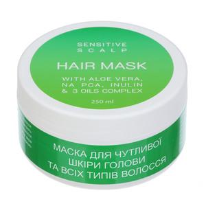 ЛУКИ ЛУК Маска для чувствительной кожи головы и всех типов волос 250мл