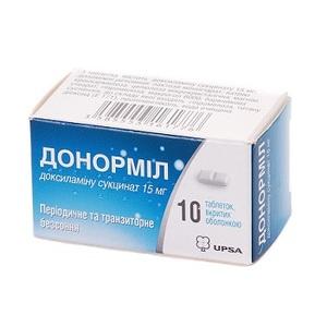 ДОНОРМИЛ ТАБ. 15МГ №10