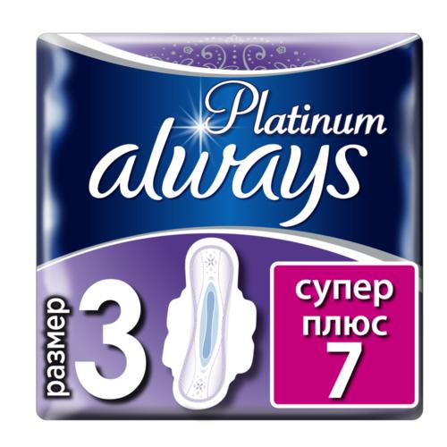 ОЛВЕЙС Ultra гіг. прокл. Platinum Collection Super Plus 7шт - фото 1 | Сеть аптек Viridis