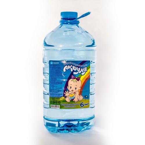ЕКОНІЯ Аквуля питна вода 6,0л купити в Броварах