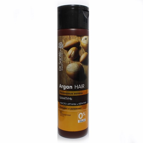 ЭЛЬФА Dr. SANTE Argan Hair Шампунь 250мл