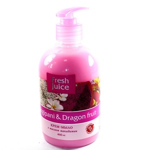 ЕЛЬФА FJ Рідке мило Frangipani & Dragon fruit 460мл