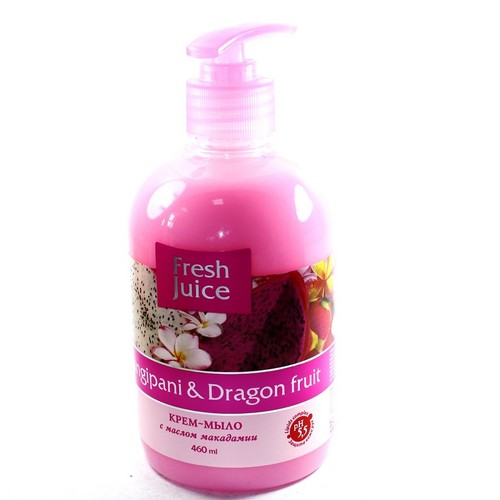 ЭЛЬФА FJ Жидкое мыло Frangipani & Dragon fruit 460мл