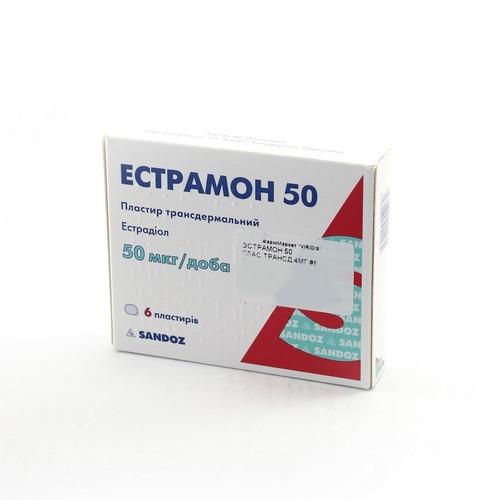 ЭСТРАМОН 50 ПЛАС.ТРАНСД. 4МГ №6 купить в Киеве