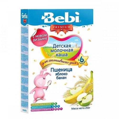 КОЛИНСКА БЕБИ Каша молочная пшеница, яблоко, банан - фото 1 | Сеть аптек Viridis