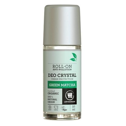 УРТЕКРАМ Органічний роликовий дезодорант Green Matcha 50 ml - фото 1   Сеть аптек Viridis