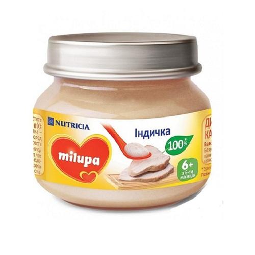МИЛУПА Пюре мясное Индейка 80г - фото 1 | Сеть аптек Viridis