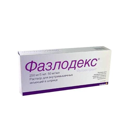 ФАЗЛОДЕКС Р-Н Д/ІН. 250МГ/5МЛ 5МЛ ШПРИЦ №2 - фото 1 | Сеть аптек Viridis