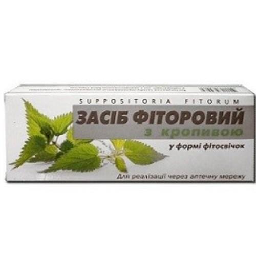 ФИТОСВЕЧИ ФИТОРОВЫЕ С КРАПИВОЙ №10 купить в Киеве