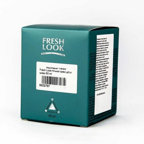 Fresh Look Нічний крем д/сух. шкiри 50 ml