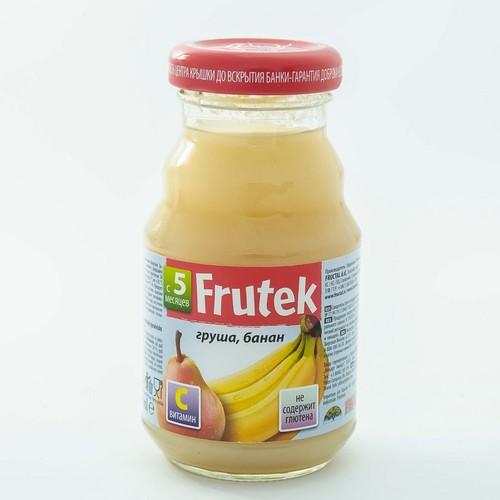 ФРУКТАЛ Фрутек нектар (банан і груша) 125гр