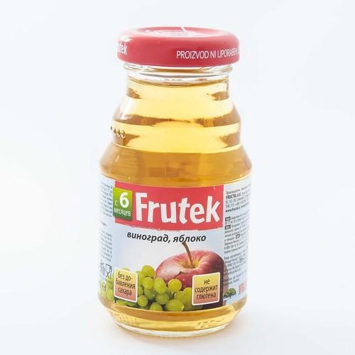 ФРУКТАЛ Фрутек сок (виноград,яблуко) 125гр. купити в Житомире
