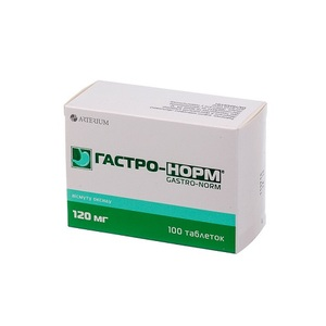 ГАСТРО-НОРМ ТАБ. 120МГ №100