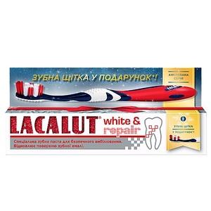 ЛАКАЛУТ Вайт восстановление зубная паста 75мл+зубная щетка