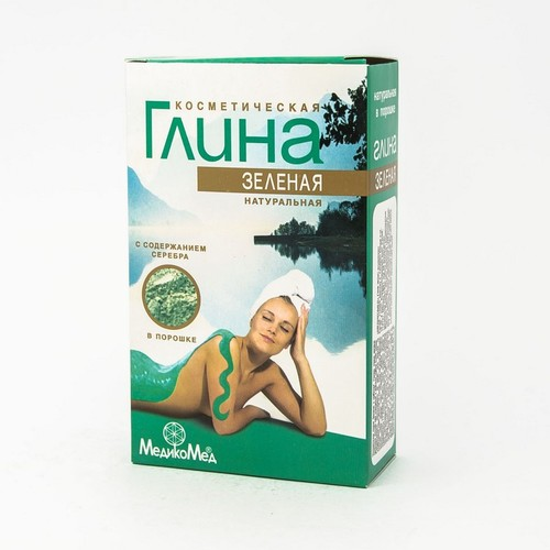 ГЛИНА ЗЕЛЕНАЯ КОСМЕТИЧ.60Г
