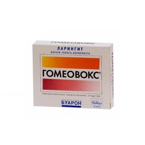 ГОМЕОВОКС ТАБ. №60 купить в Славутиче