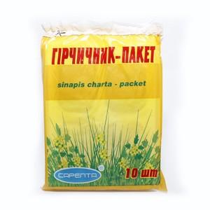 ГОРЧИЧНИК-ПАКЕТ №10 КАРТ.