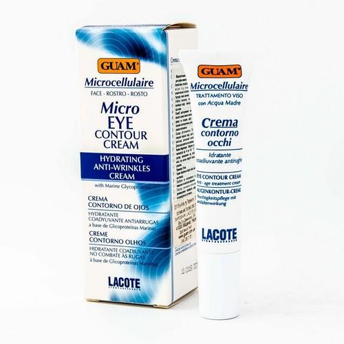GUAM Микроклеточный контур-крем для кожи вокруг глаз 15 мл купити в Харкові