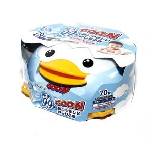 ГУН Салфетки влажные детские для новорожденных (70шт) пласт. коробка