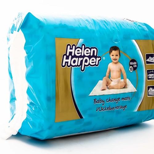 HELEN HARPER  Baby Change Mats 60*60  - гігієнічні пелюшки (з малюнком) 10 шт. купити в Ирпене