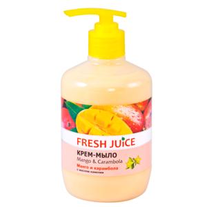 ЭЛЬФА FJ Жидкое мыло Mango & Carambola 460мл