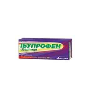 ІБУПРОФЕН-ДАРНИЦЯ ТАБ. 0,2Г №20