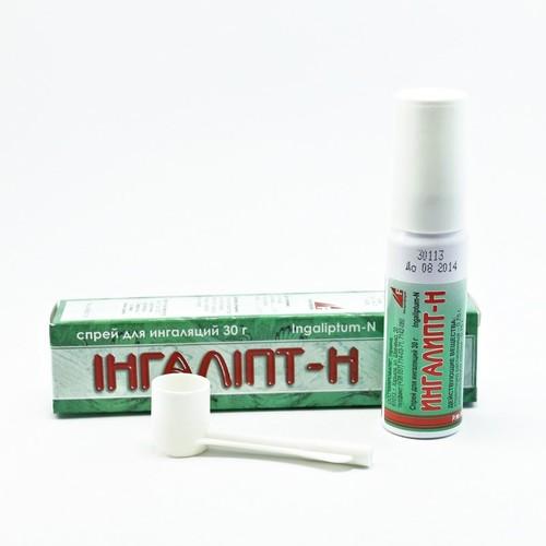 ИНГАЛИПТ-Н СПРЕЙ 30Г купить в Харькове