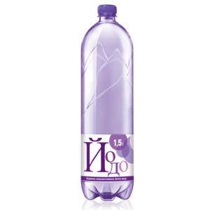 Йодо мин. вода 1,5Л (ПЭТ) газ.
