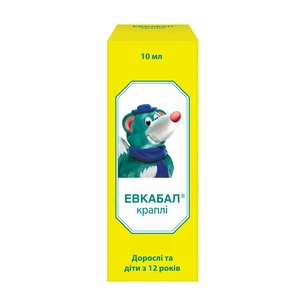 ЕВКАБАЛ КРАПЛІ НАЗ. 0,1% 10МЛ