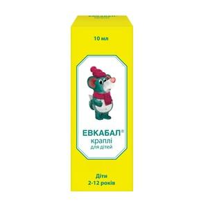 ЕВКАБАЛ КРАПЛІ НАЗ. 0,О5% 10МЛ