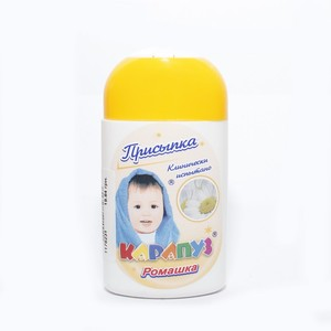 КАРАПУЗ Присыпка детская Ромашка 50г