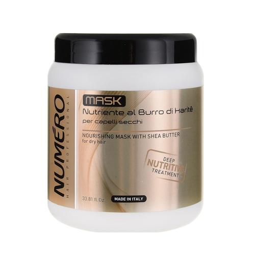 БРЕЛИЛ НУМЕРО Маска питательная для волос с маслом карите и авокадо 1000мл - фото 1 | Сеть аптек Viridis