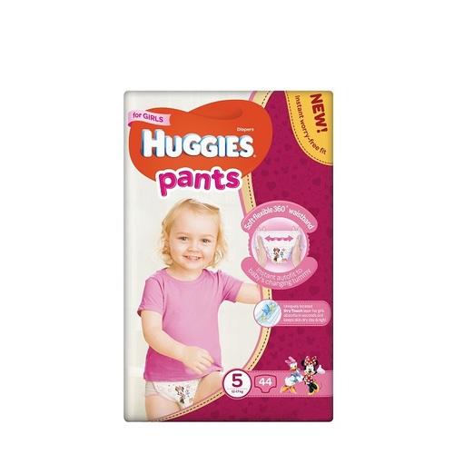 ХАГІС підгуз.-трусики Pants 5 12-17кг 44шт для  дівчаток - фото 1 | Сеть аптек Viridis
