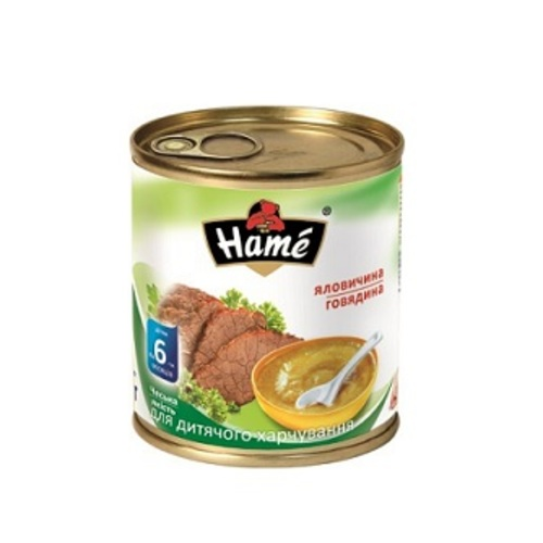 ХАМЕ Пюре яловичина купити в Броварах