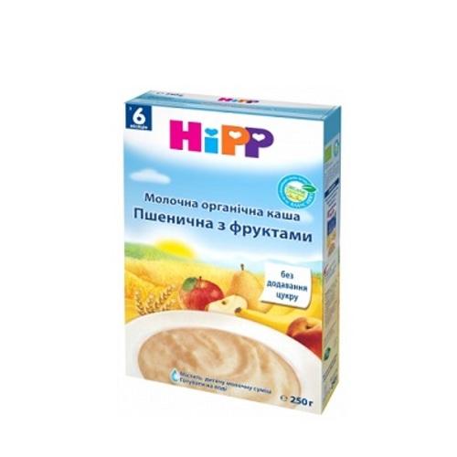 ХИПП Каша Молочная БИО пшеничная