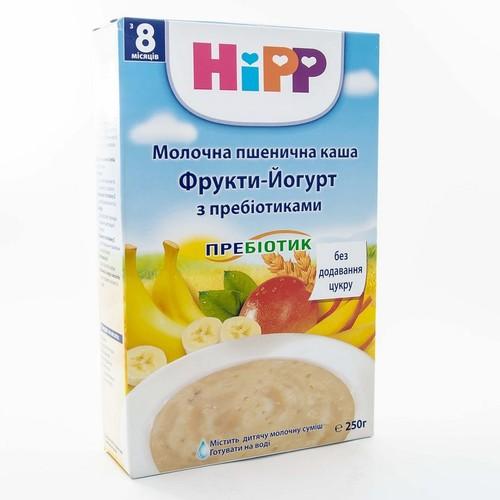 ХИПП Каша Молочная пшенична с пробиотиками«Фрукты-Йогурт» 250г купити в Славутиче