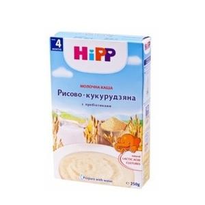 ХІПП Молочна рисово-кукурудзяна каша з пробіотиками «Перша дитяча каша»